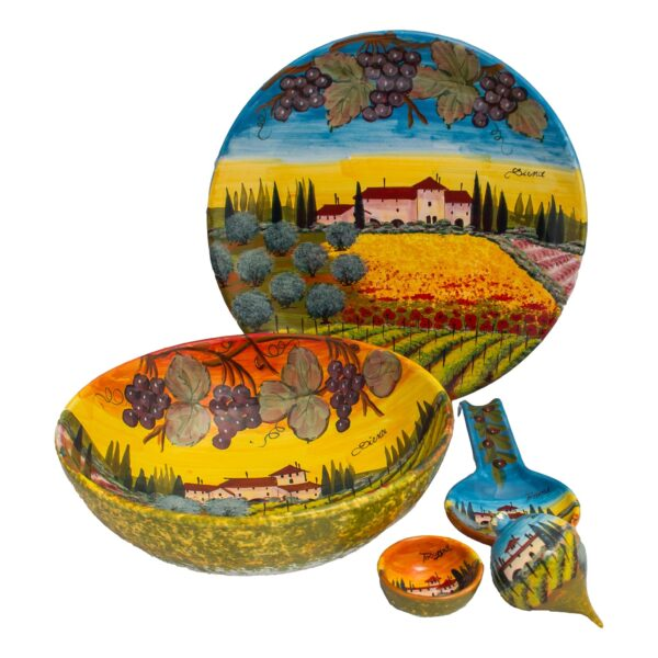 piatti ceramica Sienese